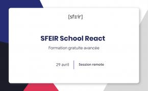 SFEIR School React