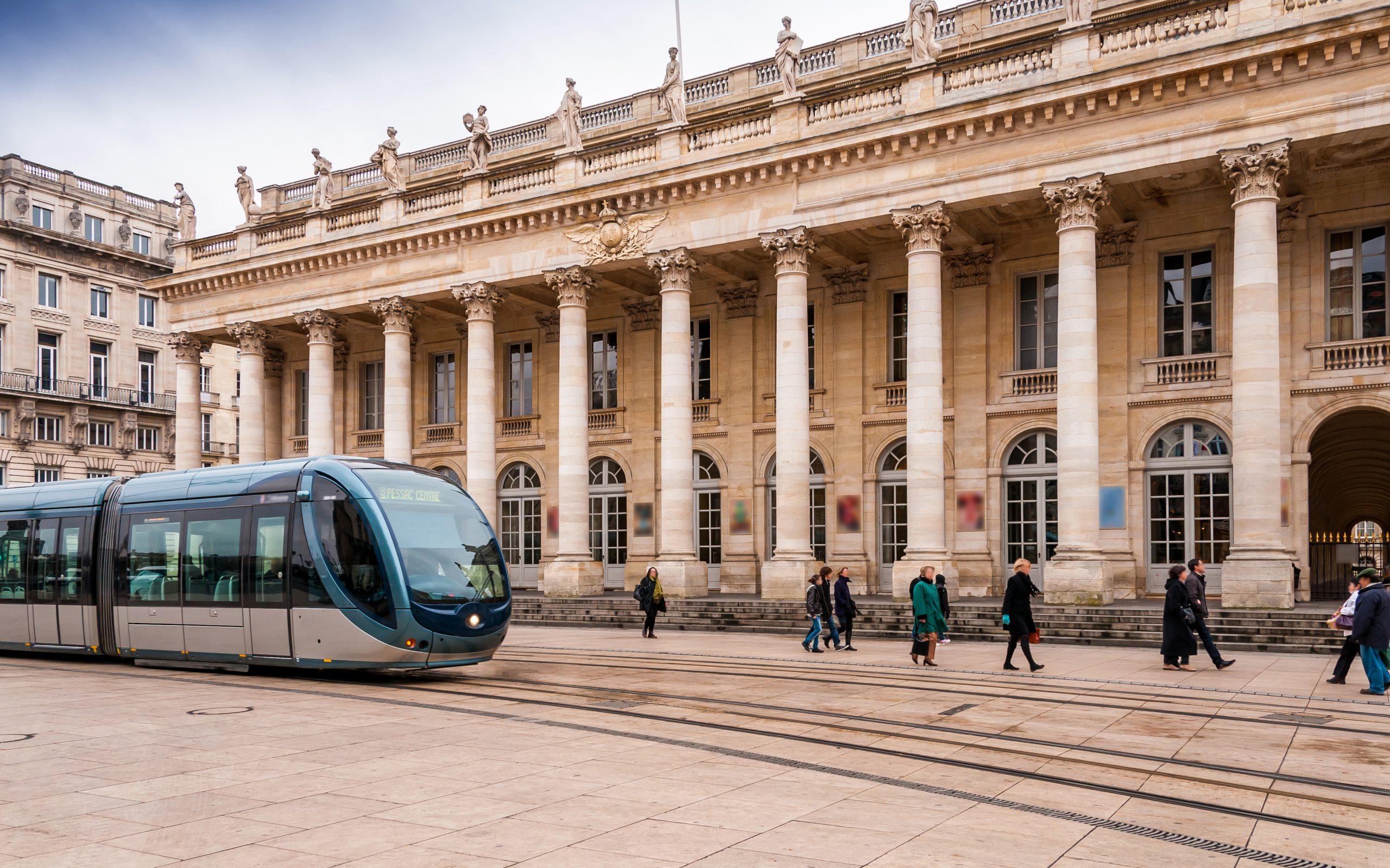 Image Bordeaux tramway