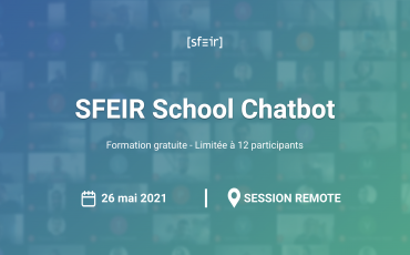 SFEIR School Chatbot Visuel
