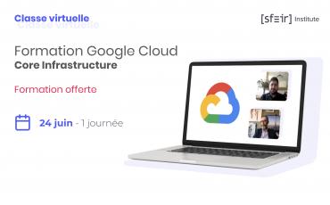 Visuel Formation Google Cloud Fundamentals