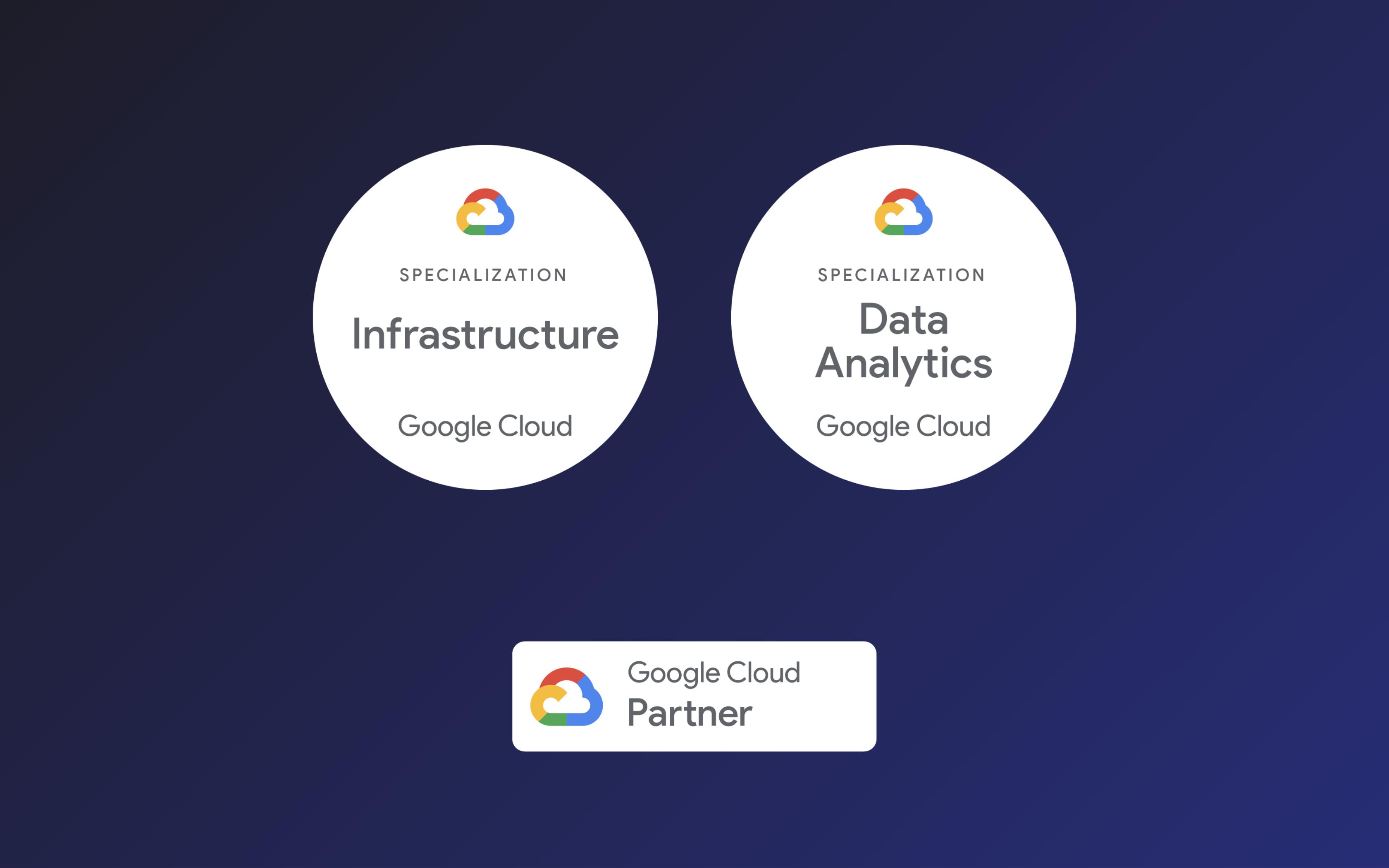 Spécialisations Google Cloud